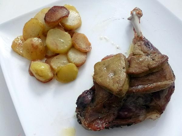 Les cuisses de canard Francis Amunategui par Samia