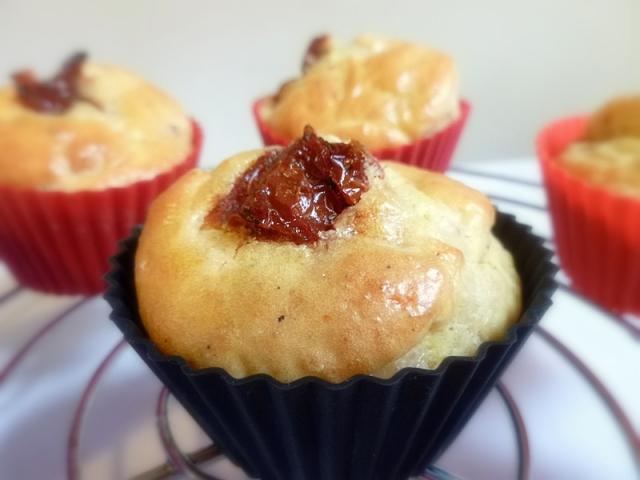 Muffins tomate séchée