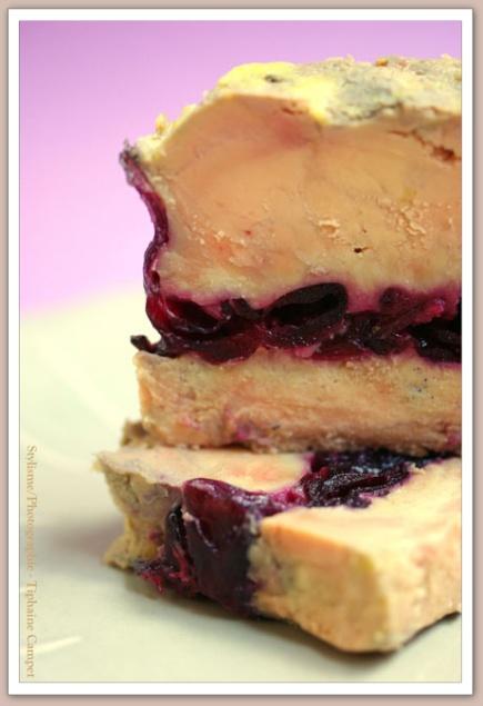Photo hibiscus et foie gras de www fleurdhibiscus com