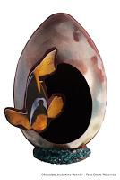 Œuf en chocolat de Joséphine Vannier - Photo du site