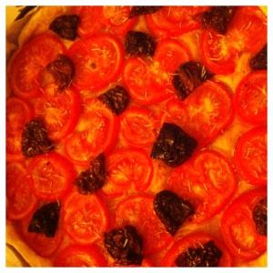 Tarte aux deux tomates