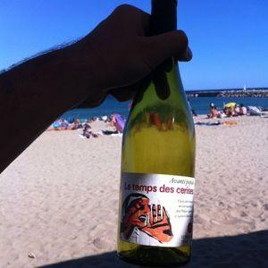 Photo de Antonin Iommi-Amunategui sur la plage de Barcelone au Ca la nuri